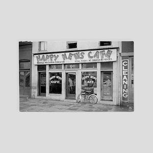 Happy News Cafe 3'x5' Area Rug