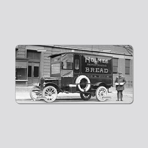 Holmes Bakery Delivery Truc Aluminum License Plate