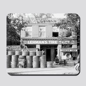 Lehman's Tire Shop Mousepad