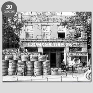 Lehman's Tire Shop Puzzle