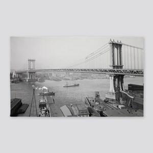 Manhattan Bridge 3'x5' Area Rug