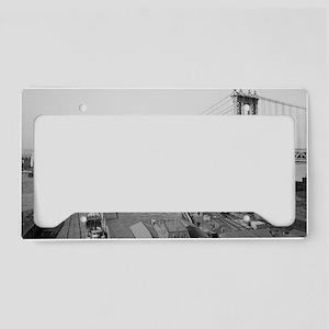 Manhattan Bridge License Plate Holder