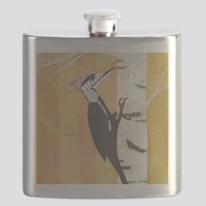 Pileated Woodpecker Flask