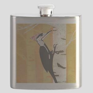 Pileated Woodpecker Flask