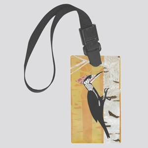 Pileated Woodpecker Large Luggage Tag