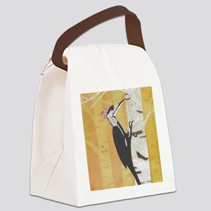 Pileated Woodpecker Canvas Lunch Bag