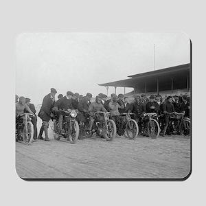 Motorcycle Races Mousepad