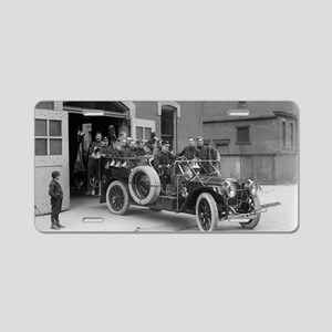 Packard Fire Squad Aluminum License Plate