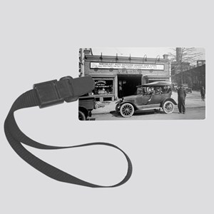 North East Auto Exchange Large Luggage Tag