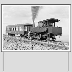 Pikes Peak Cog Railway Yard Sign