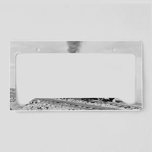 Pikes Peak Cog Railway License Plate Holder