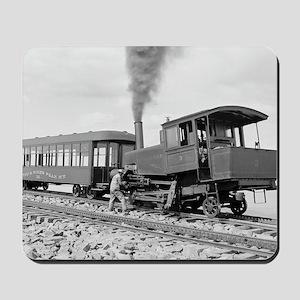 Pikes Peak Cog Railway Mousepad
