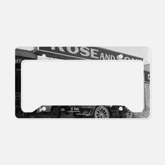 Coal Delivery Truck License Plate Holder