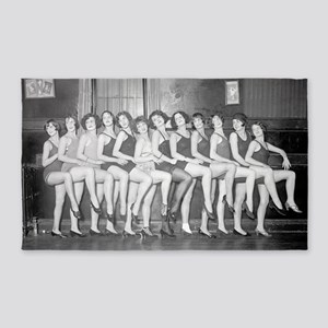 Showgirls 3'x5' Area Rug