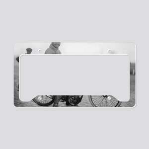 Pope Motorcycle Racer License Plate Holder