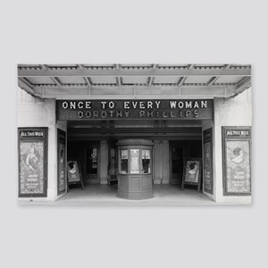 Rialto Movie Theater 3'x5' Area Rug