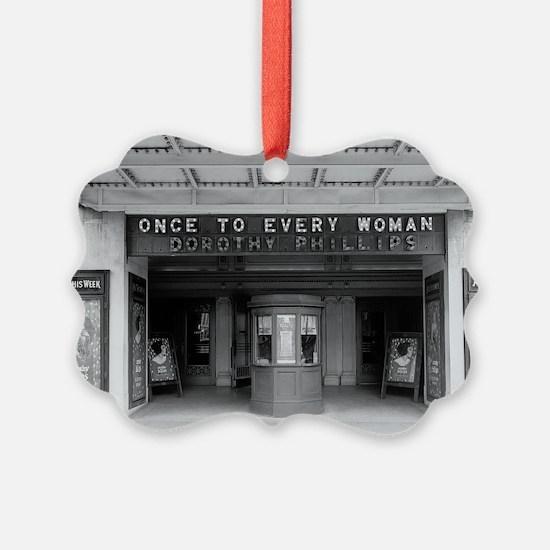 Rialto Movie Theater Ornament