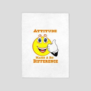 Attitude 5'x7'area Rug