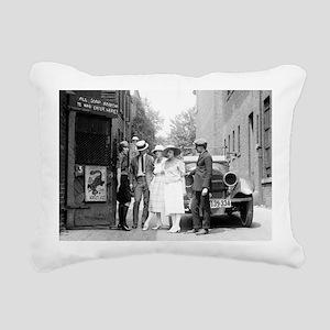 The Krazy Kat Speakeasy Rectangular Canvas Pillow
