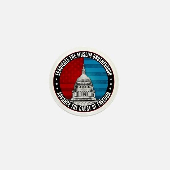 Eradicate The Muslim Brotherhood Mini Button
