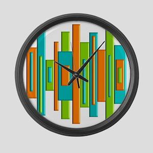 MCM ART duvet Large Wall Clock