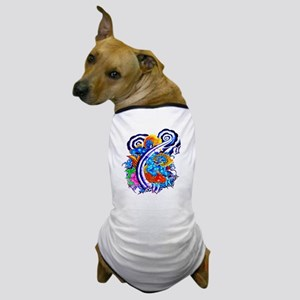 Tattoo Koi Fish Fantasy Dog T-Shirt