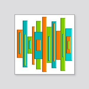 "MCM ART duvet Square Sticker 3"" x 3"""