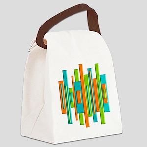 MCM ART duvet Canvas Lunch Bag