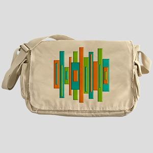 MCM ART duvet Messenger Bag