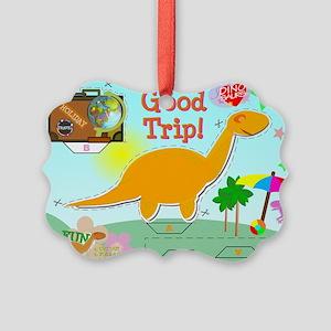 Good Trip Cartoon Dinosaur Craft Picture Ornament