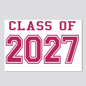 Class of 2027 (Pink) Postcards (Package of 8)