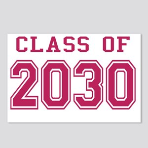 Class of 2030 (Pink) Postcards (Package of 8)