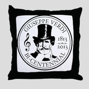 GIUSEPPE VERDI BI-CENTENNIAL Throw Pillow