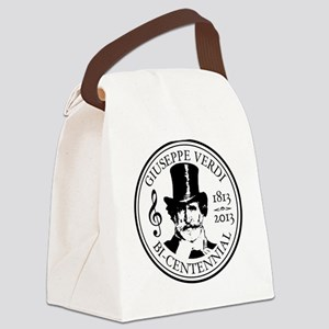 GIUSEPPE VERDI BI-CENTENNIAL Canvas Lunch Bag