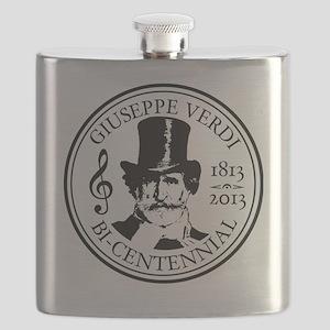 GIUSEPPE VERDI BI-CENTENNIAL Flask