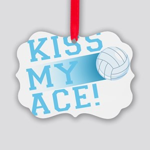 KissMyAce(volleyball) copy Picture Ornament