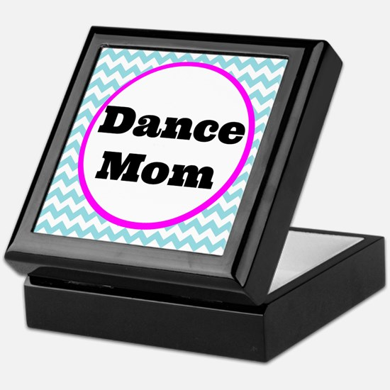 Dance Mom Car Magnet (blue/white/pink Keepsake Box