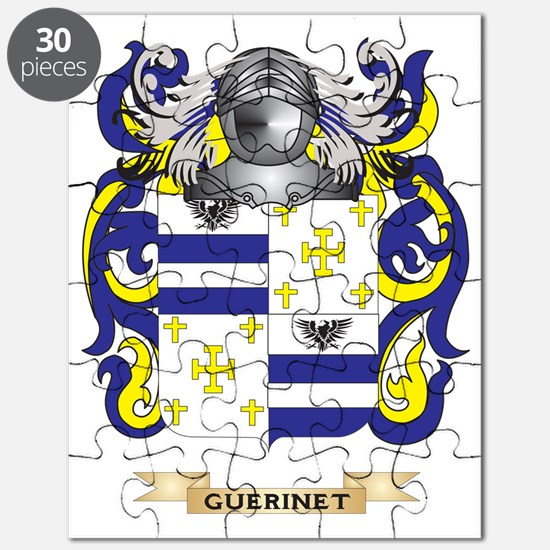 Guerinet Coat of Arms (Family Crest) Puzzle