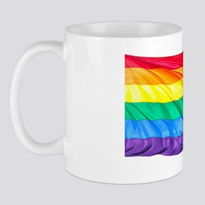 Larger Rainbow Flag! Mug