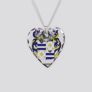 Guerinet Coat of Arms (Family Necklace Heart Charm
