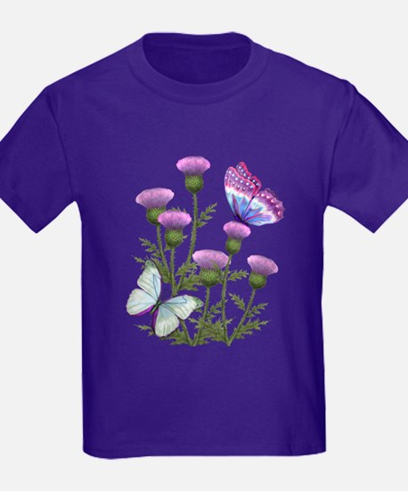 Thistles And Butterflies Kids Da T