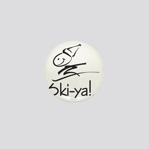 Ski-ya! Mini Button