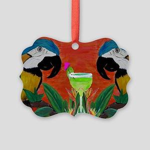 Parrot head Picture Ornament