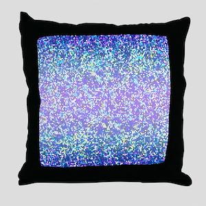 Glitter 2 Throw Pillow