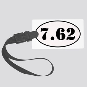 7.62 Shooter Decal Large Luggage Tag