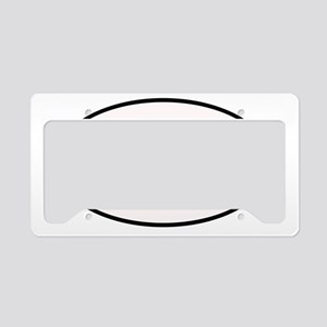 5.56 Shooter Decal License Plate Holder