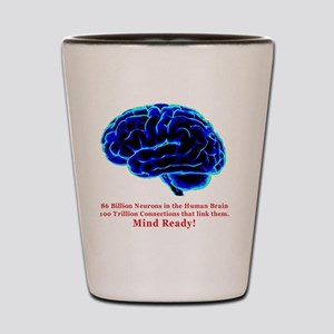 Mind Ready Shot Glass