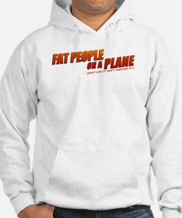 On a Plane Hoodie
