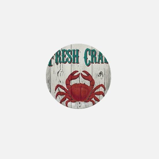 Fresh Crab Mini Button