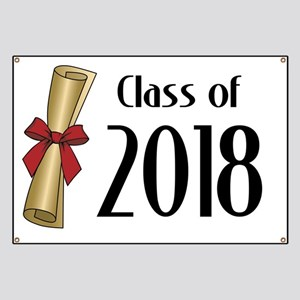 Class of 2018 Diploma Banner